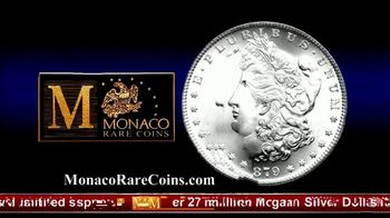 Monaco Rare Coins TV Spot, 'Morgan Silver Dollar Special Offer' - Thumbnail 7