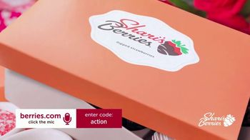 Shari's Berries TV Spot, 'Valentine's Day: Dipped Strawberries and Roses' - Thumbnail 2