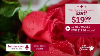 Shari's Berries TV Spot, 'Valentine's Day: Dipped Strawberries and Roses' - Thumbnail 5
