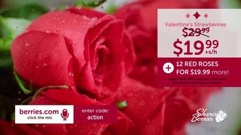 Shari's Berries TV Spot, 'Valentine's Day: Dipped Strawberries and Roses' - Thumbnail 6
