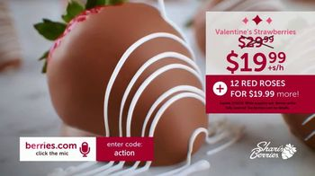 Shari's Berries TV Spot, 'Valentine's Day: Dipped Strawberries and Roses' - Thumbnail 7