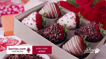 Shari's Berries TV Spot, 'Valentine's Day: Dipped Strawberries and Roses'