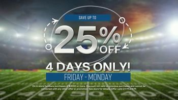 Ashley HomeStore Super Sale Weekend TV Spot, 'Four Days Only' - Thumbnail 5