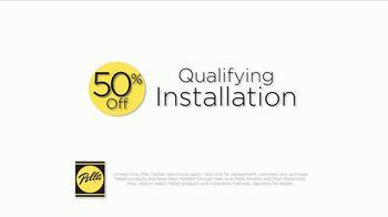 Pella Integrated Roll Screen TV Spot, 'Hidden Away: 50 Percent Off' - Thumbnail 8