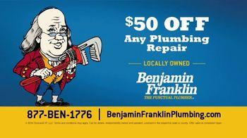 Benjamin Franklin Plumbing TV Spot, 'Sink a Great Ship: Plumbing Repair' - Thumbnail 9
