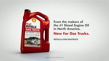 Shell Rotella Gas Truck TV Spot, 'Trucks are Different' - Thumbnail 10