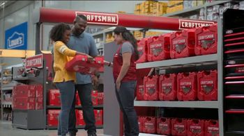 Lowe's TV Spot, 'An Investment: Mechanic Tool Set' - Thumbnail 3