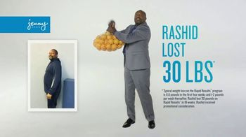 Jenny Craig Rapid Results TV Spot, 'Rashid: It's Not Over Yet'