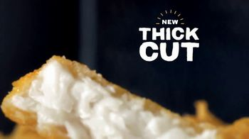 Long John Silver\'s Thick Cut Whitefish Basket TV Spot, \'Thicker Is Better\'