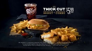 Long John Silver's Thick Cut Whitefish Basket TV Spot, 'Thicker Is Better' - Thumbnail 7