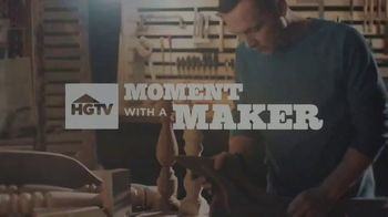Lexus UX TV Spot  'HGTV: Moment With a Maker: Woodworker' [T1] - Thumbnail 1