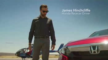 Honda Accord TV Spot, 'Driver's Seat' Featuring James Hinchcliffe [T1] - 84 commercial airings