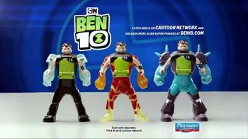 Ben 10 Transforming Action Figures TV Spot, 'Jump Into the Action' - Thumbnail 10