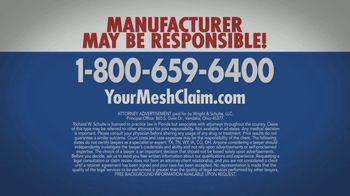 Wright & Schulte, LLC TV Spot, 'Hernia Mesh Warning' - Thumbnail 5