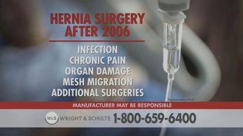 Wright & Schulte, LLC TV Spot, 'Hernia Mesh Warning' - Thumbnail 1