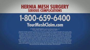 Wright & Schulte, LLC TV Spot, 'Hernia Mesh Warning' - Thumbnail 4