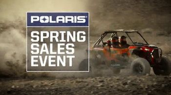 Polaris Spring Sales Event TV Spot, 'Performance Side-by-Sides'