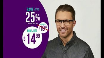 One Power Readers Huge Savings Event TV Spot, 'All-in-One Stylish Reading Glasses Under $20' - Thumbnail 7