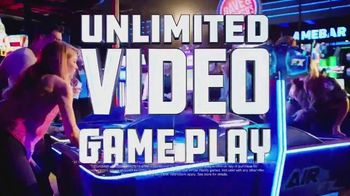 Dave and Buster's Thursdays TV Spot, 'Unlimited Video Games & Wings'