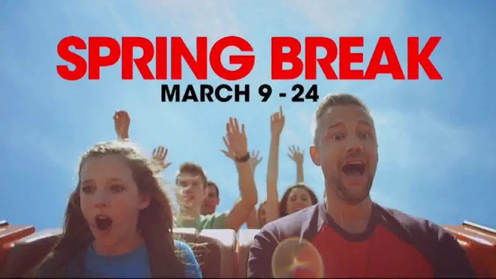 Six Flags Spring Break TV Commercial, '2019 Season Pass: Hurricane Harbor Pass'