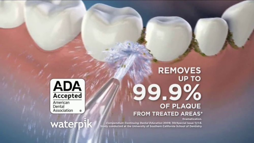 Waterpik Water Flosser TV Commercial, 'Clinically Proven'