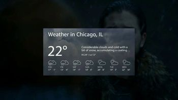 Amazon Fire TV Cube TV Spot, 'Winter Is Coming' - Thumbnail 7