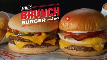 Sonic Drive-In Brunch Burger TV Spot, 'Brunch of Champions' - Thumbnail 7