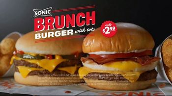 Sonic Drive-In Brunch Burger TV Spot, 'Brunch of Champions' - Thumbnail 8