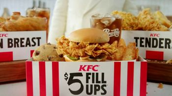 KFC $5 Fill Ups  TV Spot, '100 Percent White Meat Chicken' - Thumbnail 1