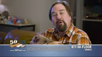50 Floor TV Spot, 'Pigs Are Tough on Floors' Featuring Richard Karn