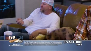 50 Floor TV Spot, 'Pigs Are Tough on Floors' Featuring Richard Karn - Thumbnail 2