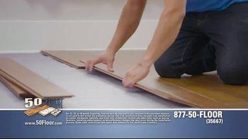 50 Floor TV Spot, 'Pigs Are Tough on Floors' Featuring Richard Karn - Thumbnail 6