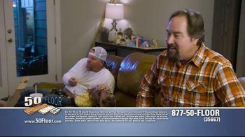 50 Floor TV Spot, 'Pigs Are Tough on Floors' Featuring Richard Karn - Thumbnail 7
