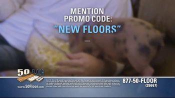 50 Floor TV Spot, 'Pigs Are Tough on Floors' Featuring Richard Karn - Thumbnail 8