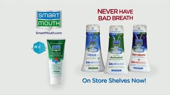Smart Mouth TV Spot, 'Beat Bad Breath: Toothpaste' - Thumbnail 10