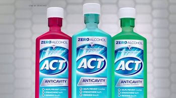 ACT Anti-Cavity Rinse TV Spot, 'Feel Fearless' - Thumbnail 8