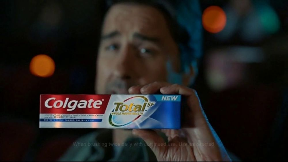 Colgate Total SF TV Commercial, 'Ice Cruncher' Featuring Luke Wilson