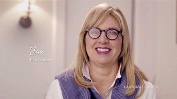 California Closets TV Spot, 'Jan's Story'