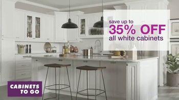 Cabinets To Go White Cabinet Sale TV Spot, 'Dream Kitchen'