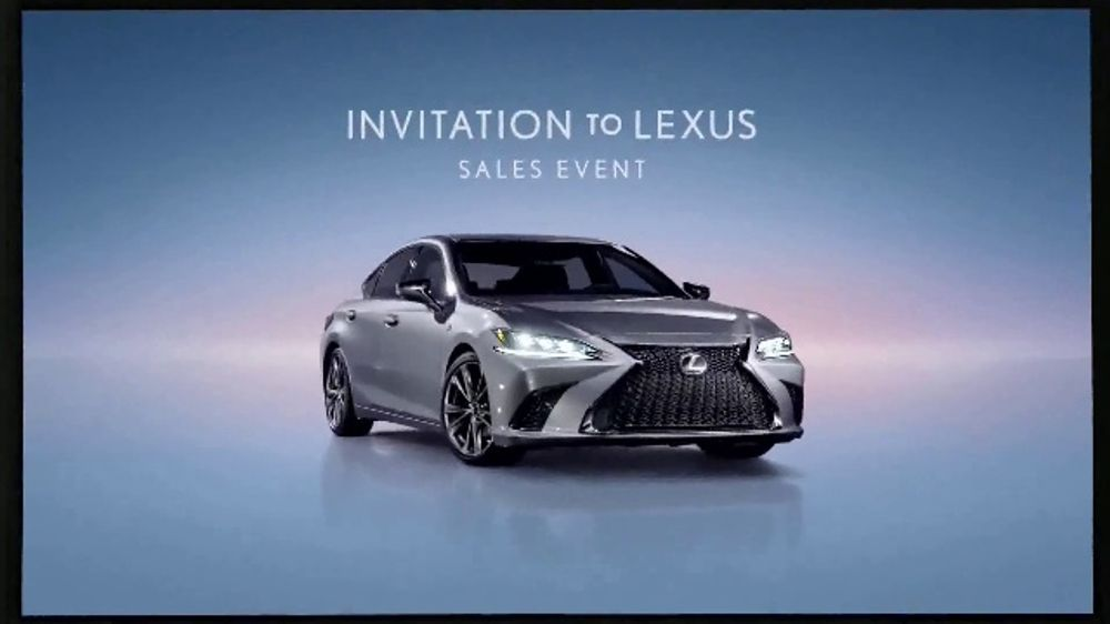 Invitation to Lexus Sales Event TV Commercial, 'Higher Standard' [T1]