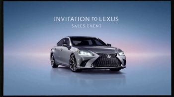 Invitation to Lexus Sales Event TV Spot, 'Higher Standard' [T1] - Thumbnail 1
