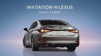 Invitation to Lexus Sales Event TV Spot, 'Higher Standard' [T1] - Thumbnail 6