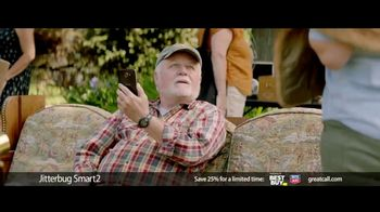 GreatCall Jitterbug Smart2 Heart Health Month TV Spot, 'A Simple Smartphone for Seniors to Use: 25% Off' - 4 commercial airings