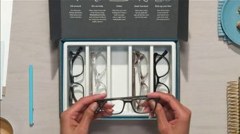 Warby Parker TV Spot, 'Home Try-On' - Thumbnail 7
