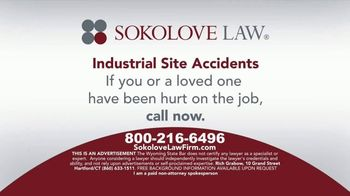 Sokolove Law TV Spot, 'Industrial Site Accidents' - Thumbnail 7