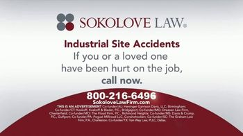 Sokolove Law TV Spot, 'Industrial Site Accidents' - Thumbnail 6
