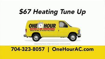 One Hour Heating & Air Conditioning  TV Spot, 'Two Companies, One Mission: Heating Tune Up' - Thumbnail 5