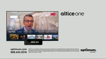 Optimum Altice One TV Spot, 'Professional Level Entertainment'
