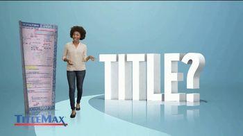 TitleMax TV Spot, 'I Got My Title Back' - Thumbnail 2