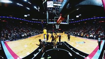 NextVR TV Spot, 'NBA Basketball' - Thumbnail 6